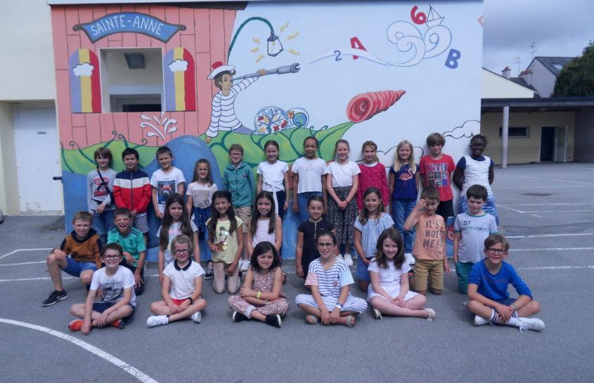 La photo de classe de rentrée