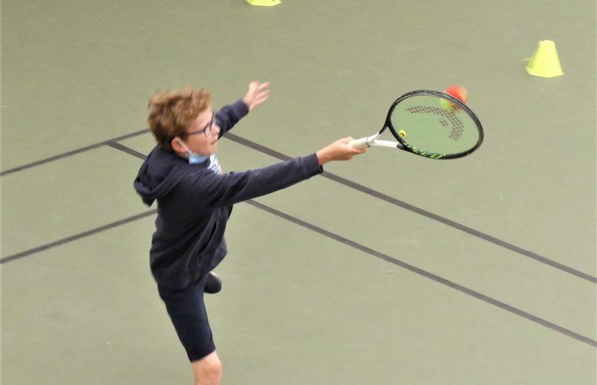 Séances de tennis pour les CM1