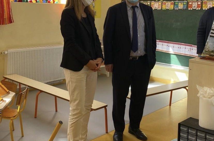 Visite de Monsieur le Maire